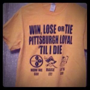 Win, Lose, or Tie Pittsburgh Tee